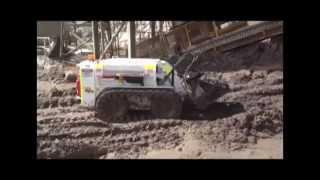 Kanga Remote Loader TR825 - Skid Steer - Culvert Cleaner