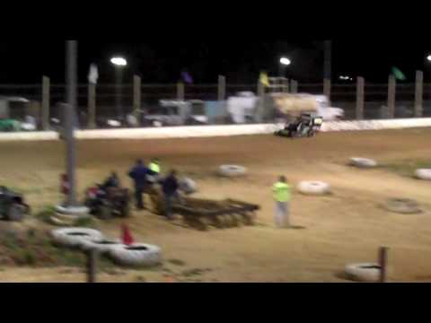 Borgers Speedway Tobias All Star Slingshot Feature 4/23