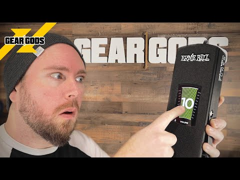 Why Is There A TOUCHSCREEN On This Volume Pedal? | GEAR GODS