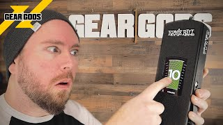 Why Is There A TOUCHSCREEN On This Volume Pedal? Ernie Ball VP JR Tuner | GEAR GODS