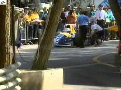 F1 1993 - Monacon GP - JJ Lehto ja Karl Wendlinger (YLE / MTV3 Ruutulippu)