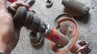 geely ck ремонт передней подвески (ходовой)