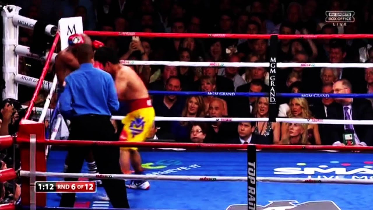 Floyd Mayweather Jr vs Manny Pacquiao (highlights) - YouTube