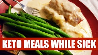 I Had the Flu.  What Did I Eat? Eating Keto While Sick With the Flu #ketomealplan