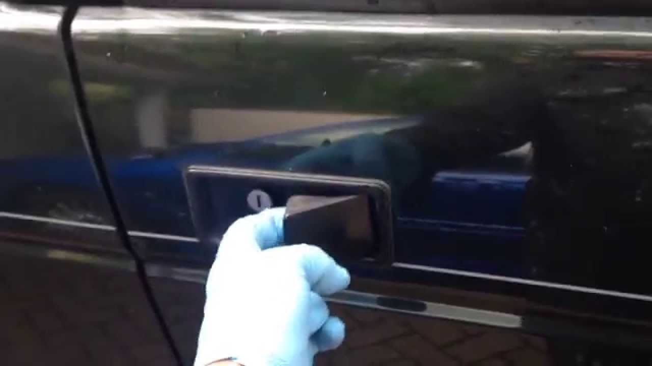 How To Fix The Door Handle Landrover Discovery 1 Youtube