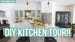 Budget Friendly Kitchen Tour at Mom