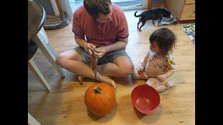 [미국일상vlog]Halloween/할로윈/호박등(잭오…