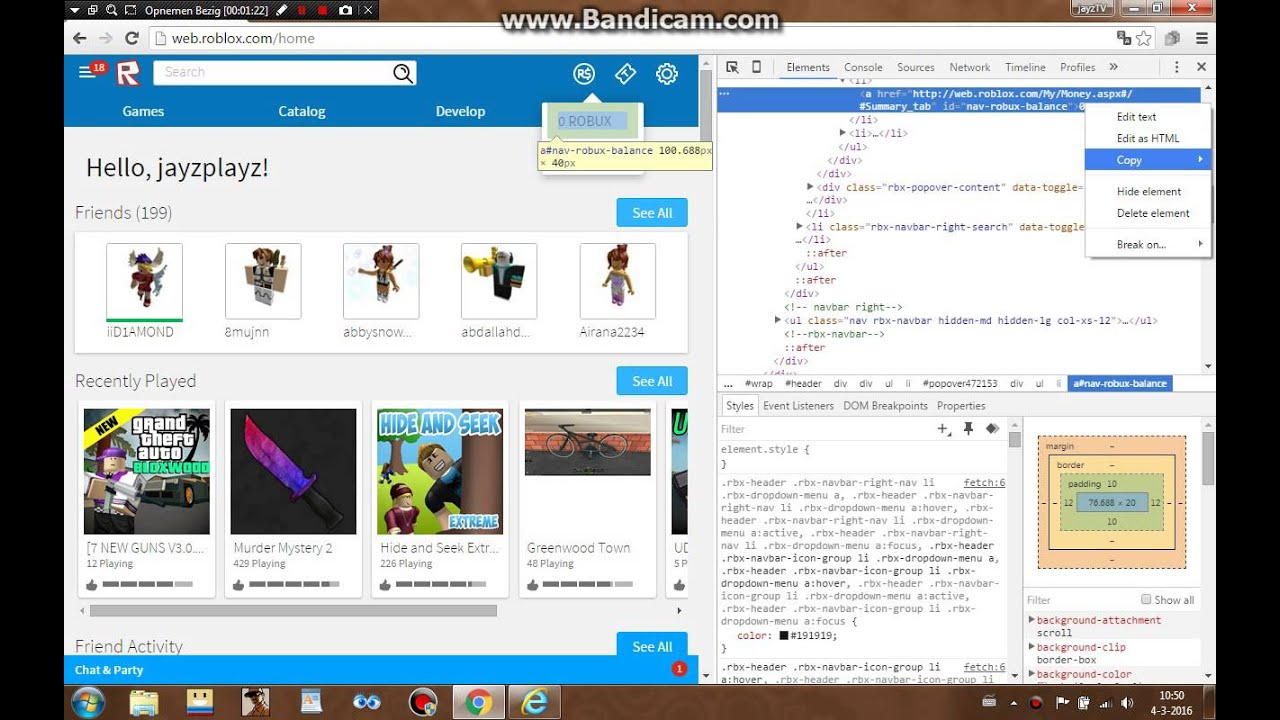 How Do You Hack Roblox Money How To Hack Roblox Robux Works With Google Chrome 2016 Youtube
