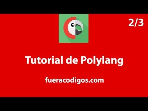 Traducción del contenido de WordPress con Polylang - Tutorial (2/3)