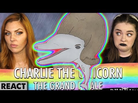 THE MIGHTY WABBAWONK | Girls React | Charlie The Unicorn: The Grand Finale (Part One)