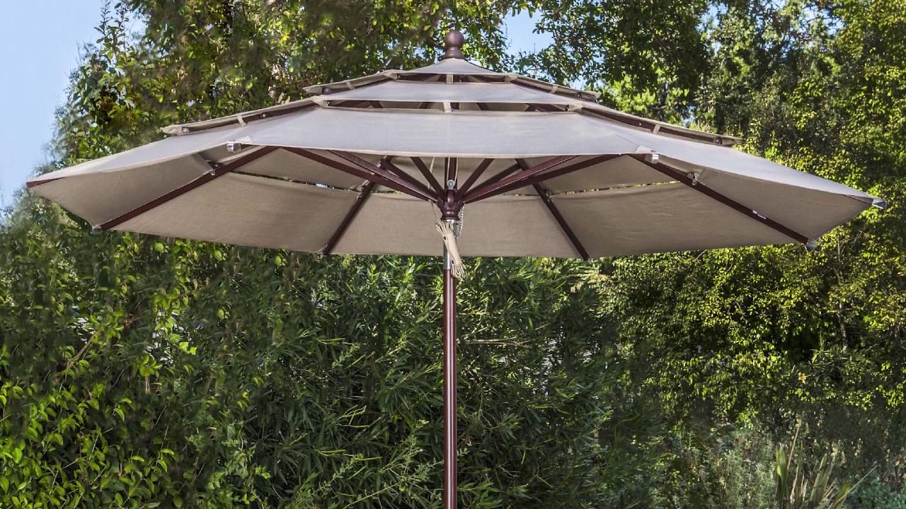 70bde1f7aa29a Proshade 11ft Aluminum Umbrella Video Instruction - YouTube