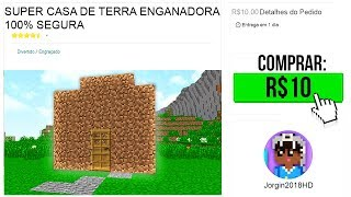 COMPREI ESSA CASA POR 10 REAIS! (MINECRAFT)