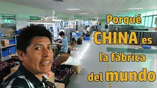 Por qué China es la fábrica del mundo - Rompiendo mitos