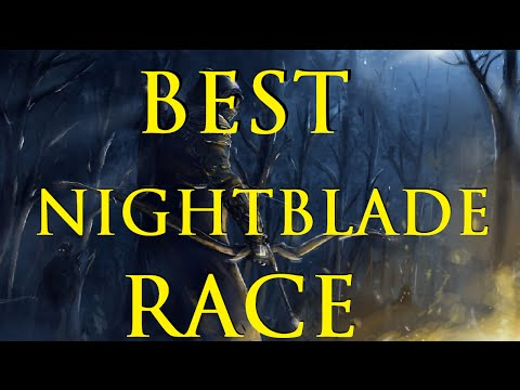 ESO: Best Nightblade Race