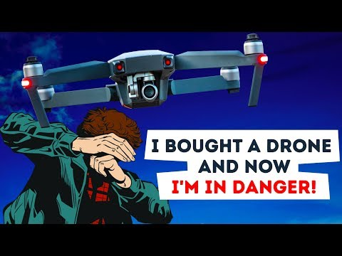 MY DRONE PUT ME IN DANGER. TRUE HORROR STORY ANIMATED