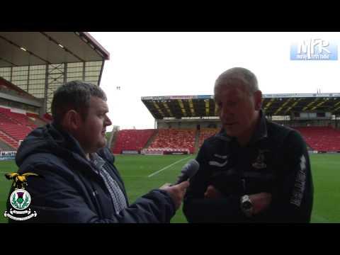 Terry Butcher post match interview v Aberdeen, 21/09/2013