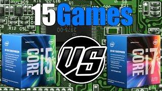 i5 6500 vs i7 6700   gtx 1070 oc   2560 x 1440   in 15 games
