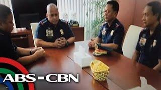 TV Patrol: 3 pulis na isinasangkot sa droga, humarap kay Dela Rosa