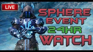 FORTNITE EVENT LIVE  - ICE KING SPHERE EVENT PROGRESSING - SPHERE IS ON FIRE - IN GAME COUNTDOWN
