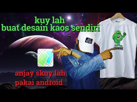 Cara Desain Kaos Menggunakan PixelLab Dengan Sangat Mudah | Assalamualaikum... Salam Editor Indonesi.