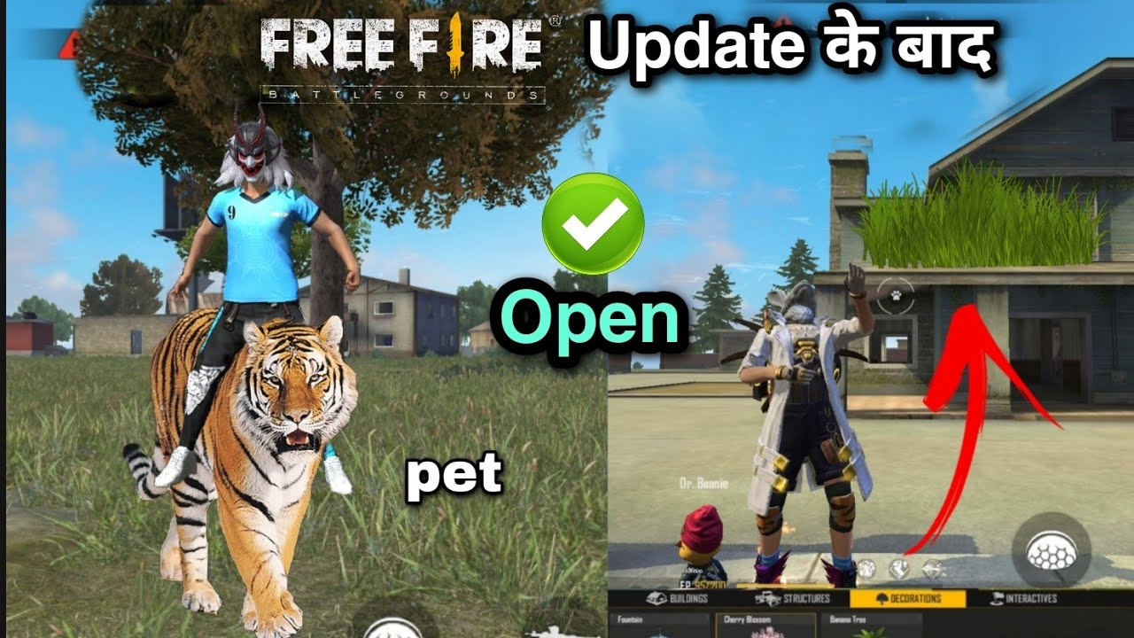 Ob29 new update free fire / server will be down for maintenance