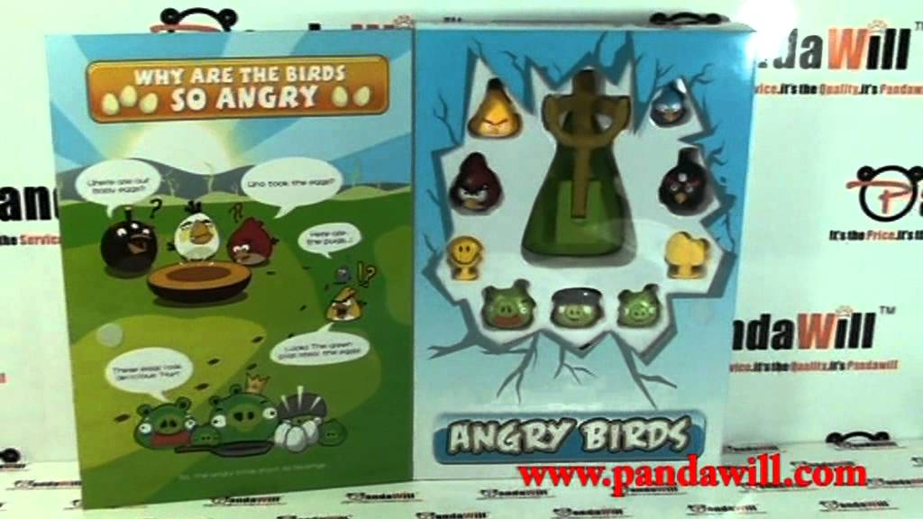 Angry Birds Toys With Sound : Real sound effect angry birds toy games youtube