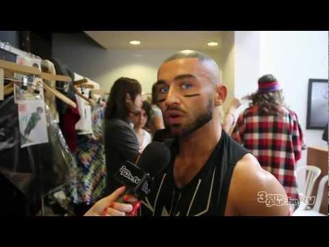 Bernhard Willhelm  Backstage  Fashion Week PAP Masculine  SS 2012
