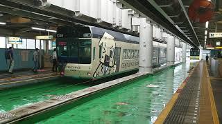 千葉都市モノレール都賀駅 上下線到着シーン