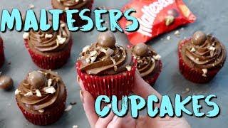 MALTESERS CUCPAKES BACKEN | super schokoladige Cupcakes selber machen [einfach & schnell]