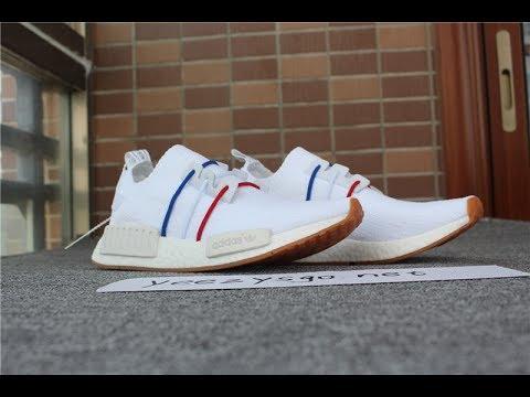 NEW 2017 UA Adidas NMD_R1 Red blue white BZ0298