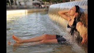 видео Как пережить жару в городе без вреда для здоровья