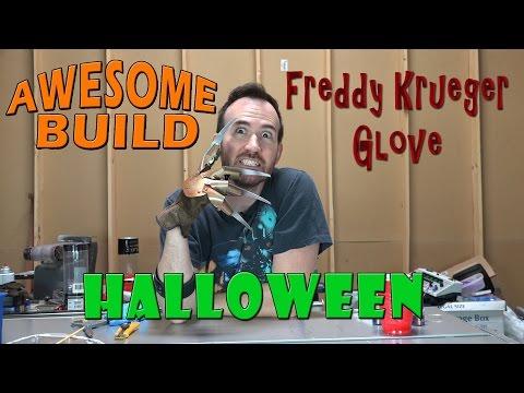 Freddy Krueger Glove - Awesome Build