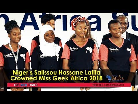 #TAS2018: Awarding Miss Geek Africa 2018