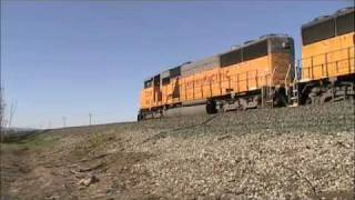 Union Pacific Work Train dumps rock on the Martinez sub. (part 1)