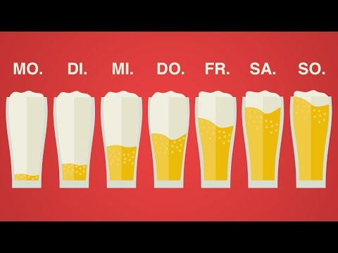 DAS passiert, wenn du jeden Tag BIER trinkst!