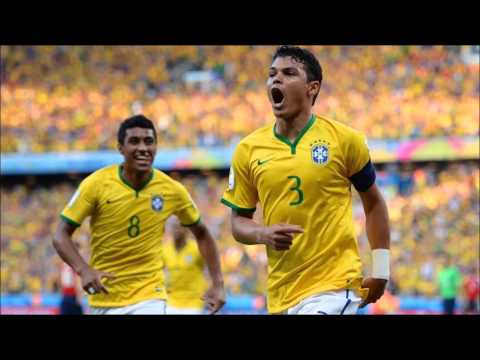 Brazilian Spanish radio commentary of Thiago Silva's 2014 World Cup goal
