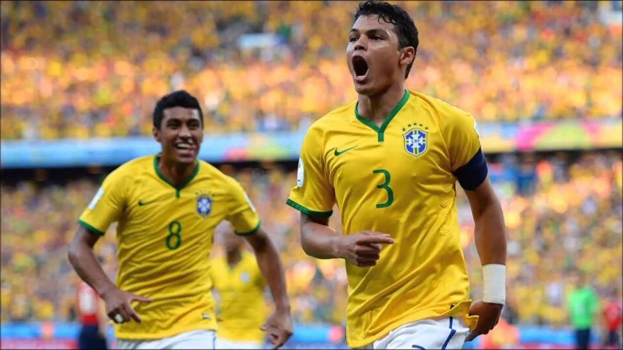 The First 11 Football Players of Brazil 2014 - The10BestReview |Thiago Silva Footballer 2014