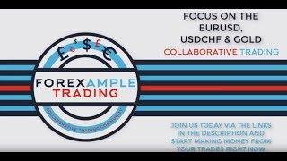 Forex Forecast - Trading the EURUSD,USDCHF & GOLD - 6th November 2018