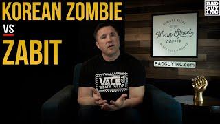 Korean Zombie calls out Zabit Magomedsharipov...I'm in.