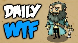 Dota 2 Daily WTF - Kunkka Under Atack