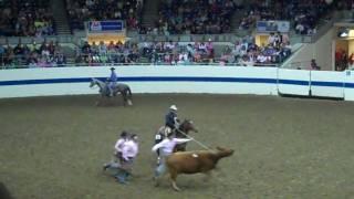 2010 Ranch Rodeo ~ Team 3 Bar J ~ Wild Cow Milking