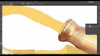 Adobe Illustrator. Векторный фотореализм. Градиентная сетка.Часть 2. (А. Панченко,Борис Поташник)