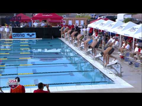 Men's 100 Freestyle A Final - 2013 Arena Mesa Grand Prix