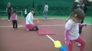 Детский теннис 3-4 года