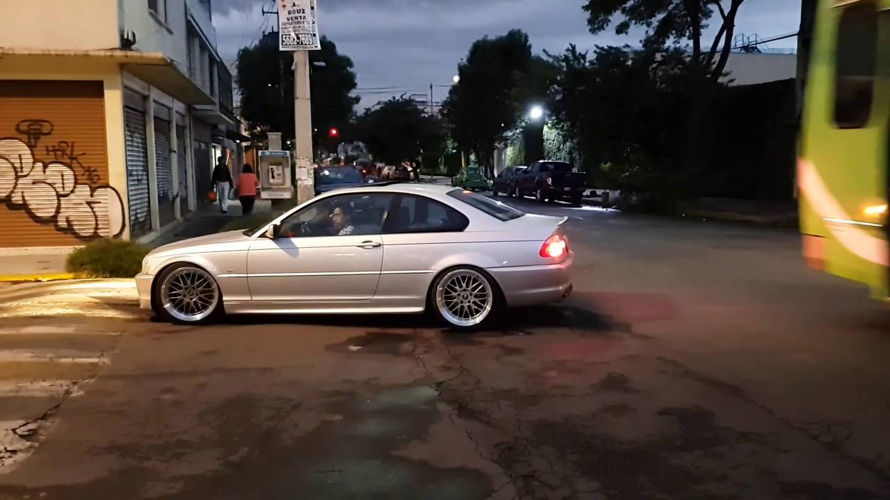 E46 Bmw Coupe F1 Lowered Youtube