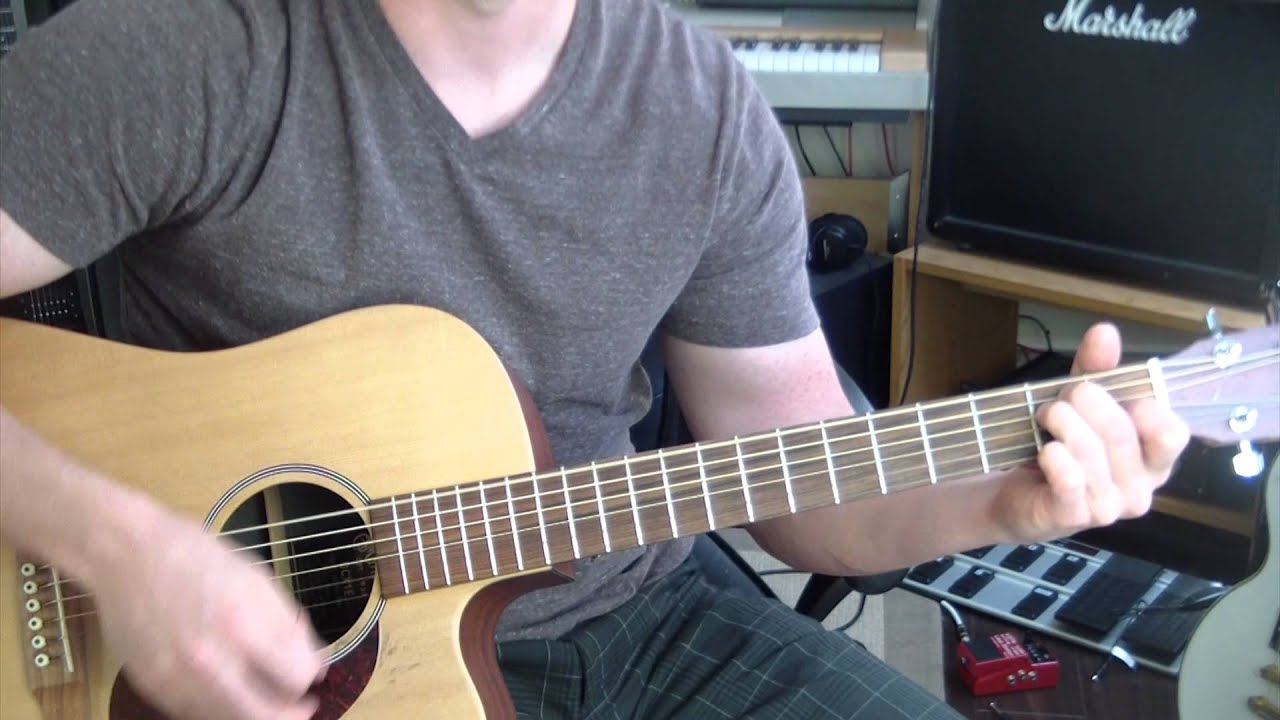 Bob Dylan Shelter From The Storm Guitar Tutorial Youtube