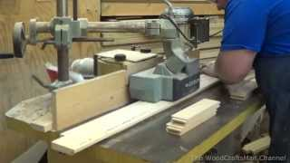 Building Custom Oak Cabinets Episode 2-Making The Doors and Drawer Fronts Part 1