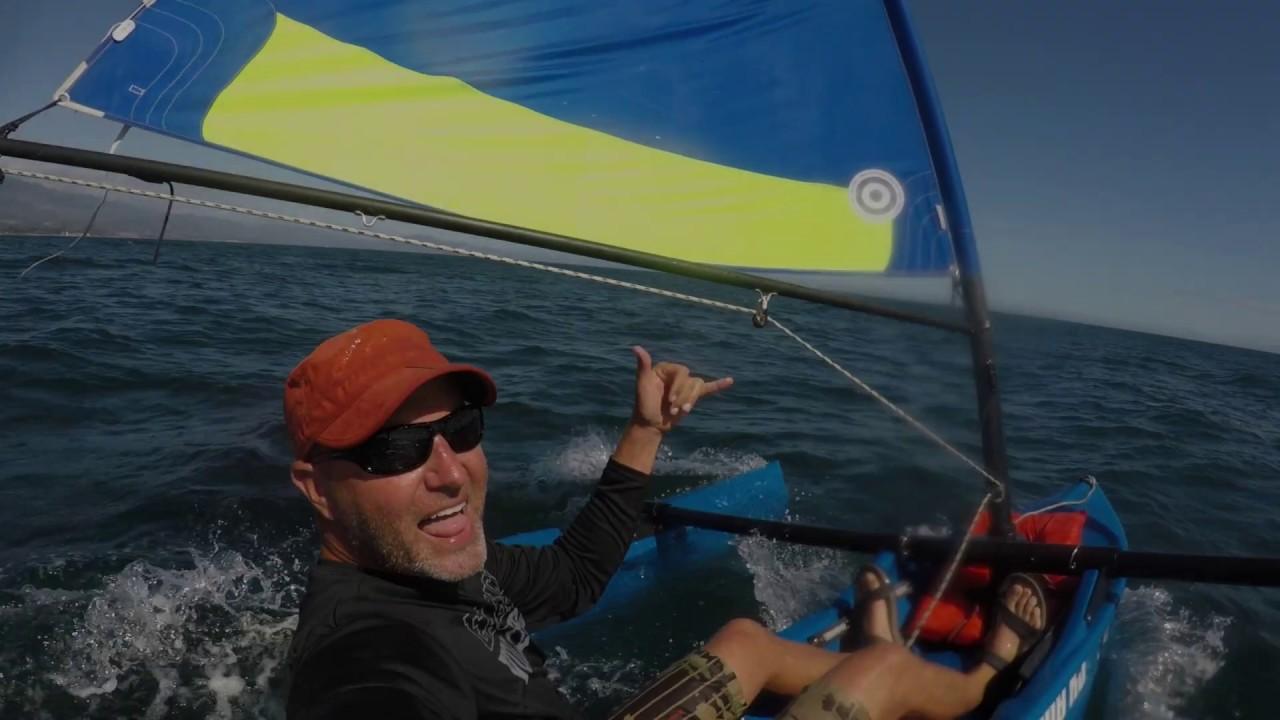 29er Sailing at Carsington sailing club. GoPro POV - YouTube