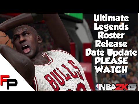 NBA 2K15   Ultimate Legends Roster Release Date Update