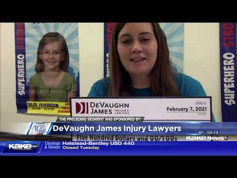 Love Chloe Foundation - DeVaughn James Injury Lawyers WINS for Kansas